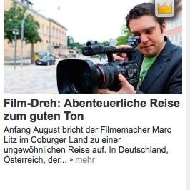 """Artikel in der """"Neuen Presse"""""""